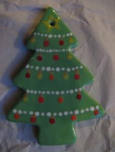 Weihnachtsschmuck Porzellancafé