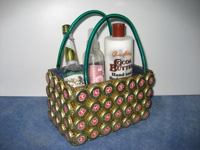 Herrenhäuser-Kronkorken-Tasche