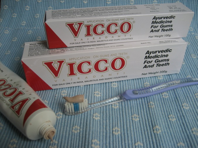 Ayurvedische Zahncreme Vicco