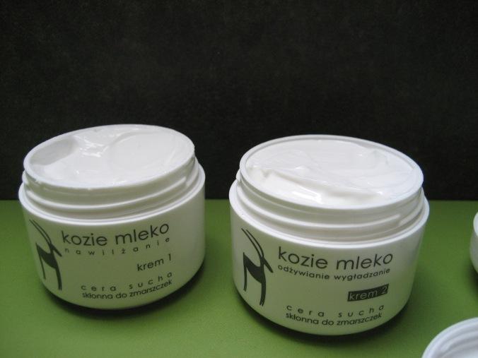 Tages- und Nachtcrème aus Polen