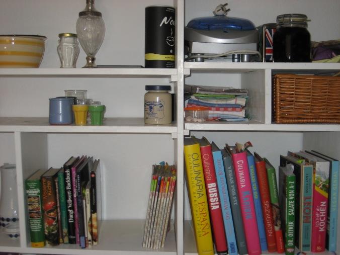 Kochbücher nachher