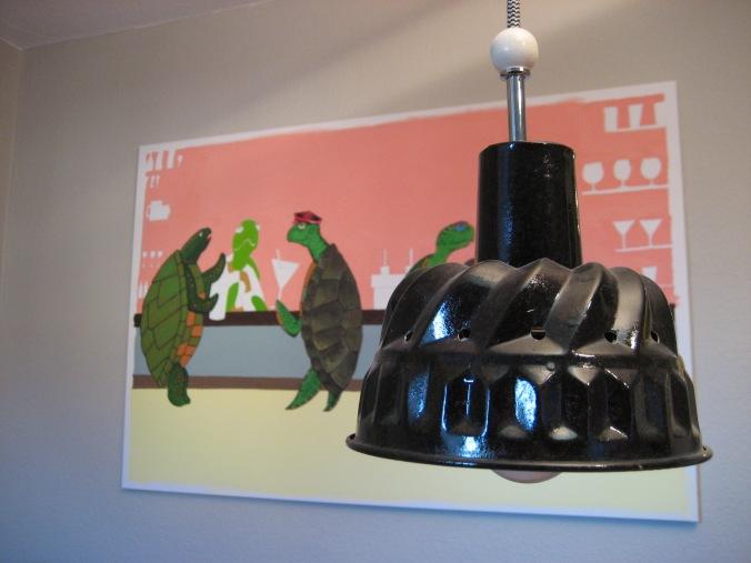 DIY Lampe aus Backform