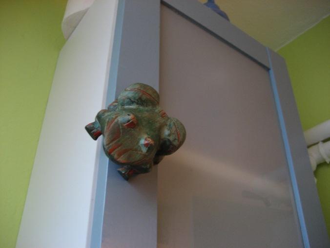 DIY Frosch Türgriff