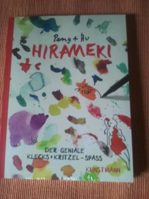 Hirameki Flecken-Malbuch