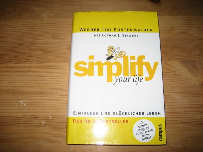 Simplify your life Buch
